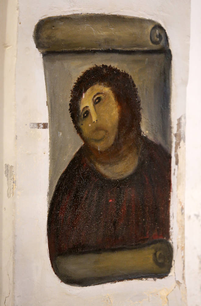 The Ecce Homo is now dubbed the 'Monkey Christ' after its botched restoration
