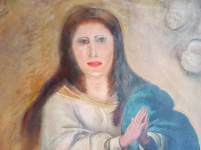 The botched restoration of Murillo's Virgin Mary