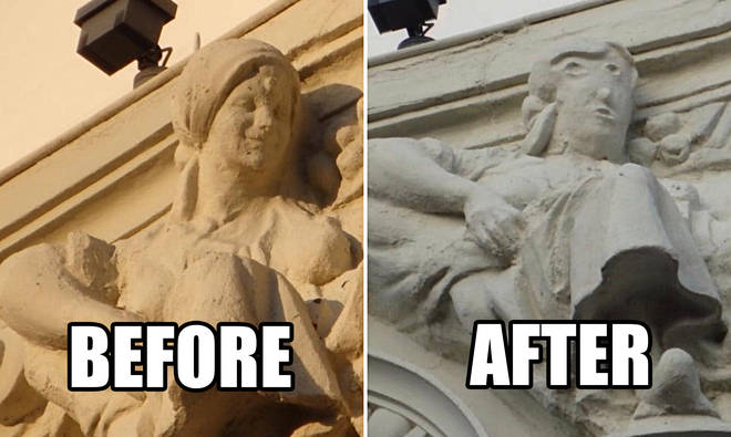 The Spanish sculpture is the latest in botched restorations