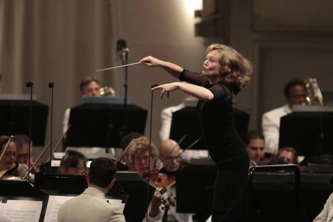 Conductor Mirga Gražinytė-Tyla
