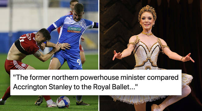 Andy Berry suggests 'northerners like football, southerners prefer ballet'