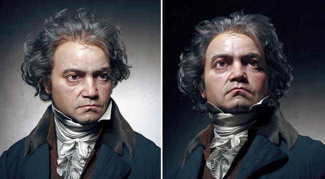 Beethoven's 'real' face?