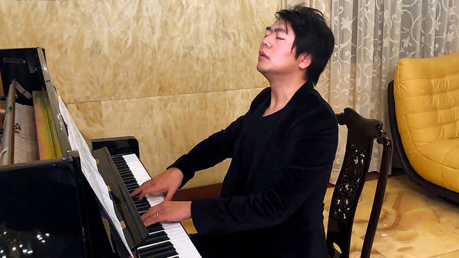Lang Lang plays for the 'Global Citizen' concert