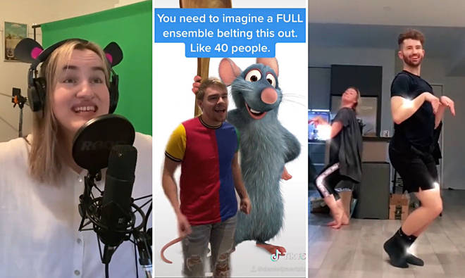 TikTok users have turned 'Ratatouille' into a full-blown Broadway musical
