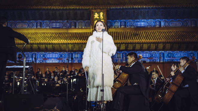 Aida Garifullina in the Forbidden City, Beijing
