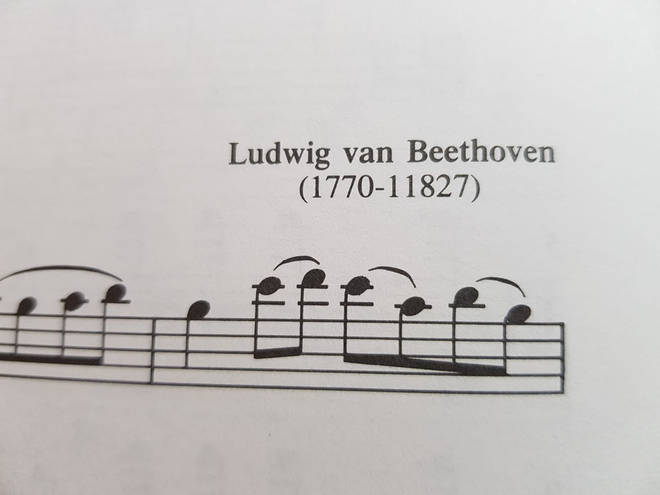 1000-year-old Beethoven