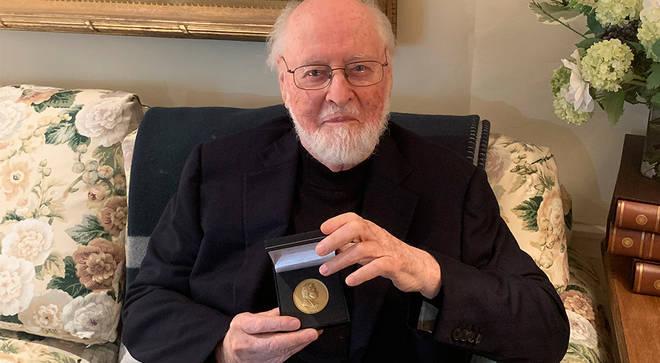 John Williams receives RPS Gold Medal award