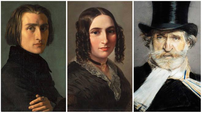 Romantic composers: Liszt, Fanny Mendelssohn and Verdi