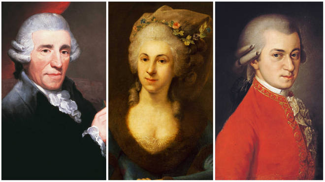 Classical composers: Haydn, Marianna Martines and Mozart