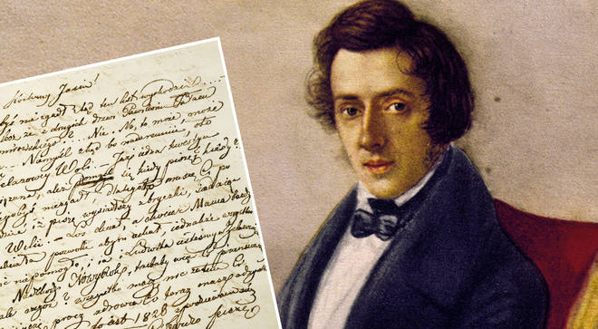 Chopin's letters reveal 'declarations of love aimed at men'