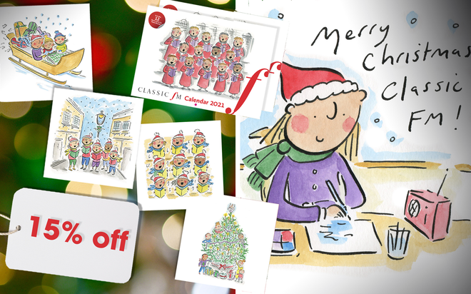 Classic Fm Charity Christmas Cards And 2021 Wall Calendar Black Friday Sale Classic Fm