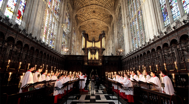 The King's College Carol service will be held in an empty chapel this Christmas
