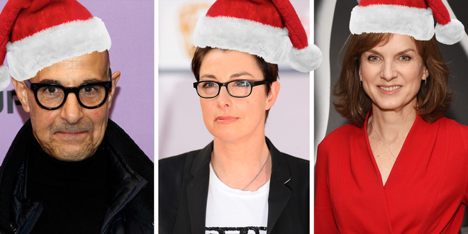 Maggie's Carols in the Kitchen: sing Christmas carols with Fiona Bruce, Stanley Tucci, Sue Perkins and other stars, from your home