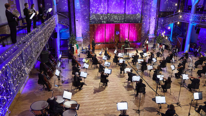 LSO records 'A Christmas Singalong' at LSO St Luke's
