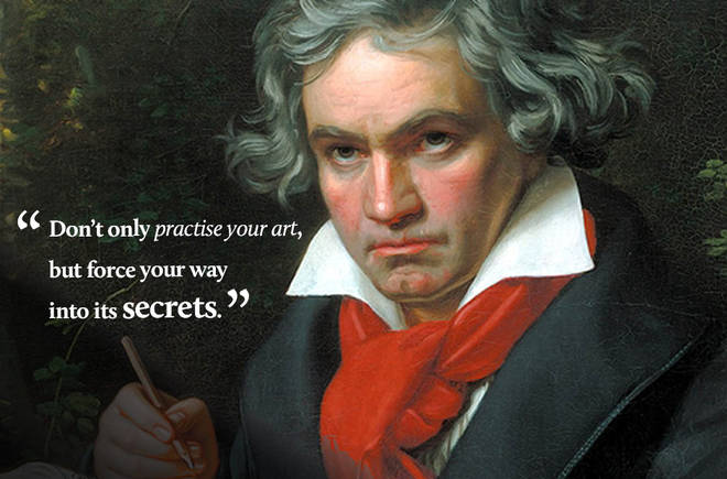 Don't only practise your art, but force your way into its secrets