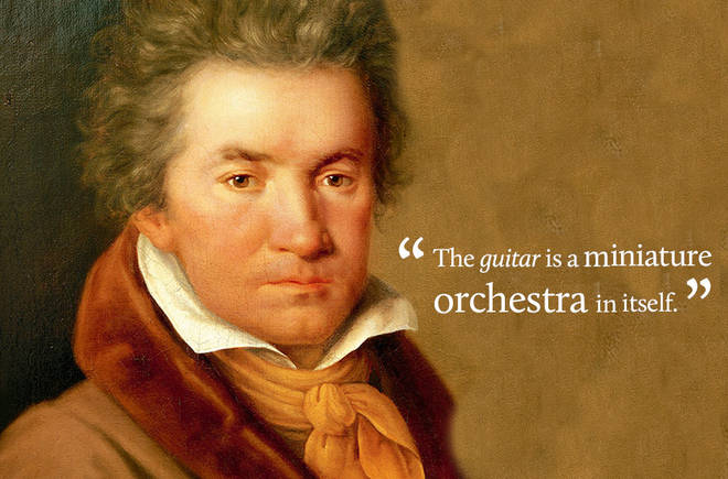 The guitar is a miniature orchestra in itself.