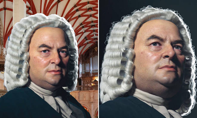 This 3D colourised portrait of Bach is incredibly lifelike