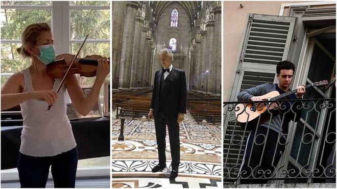 Inspiring music moments in 2020: Anne-Sophie Mutter; Andrea Bocelli; Quarantined musician