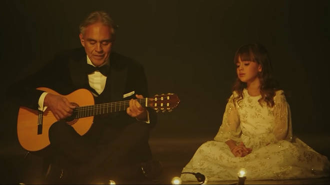 A poignant duet from Andrea and Virginia Bocelli