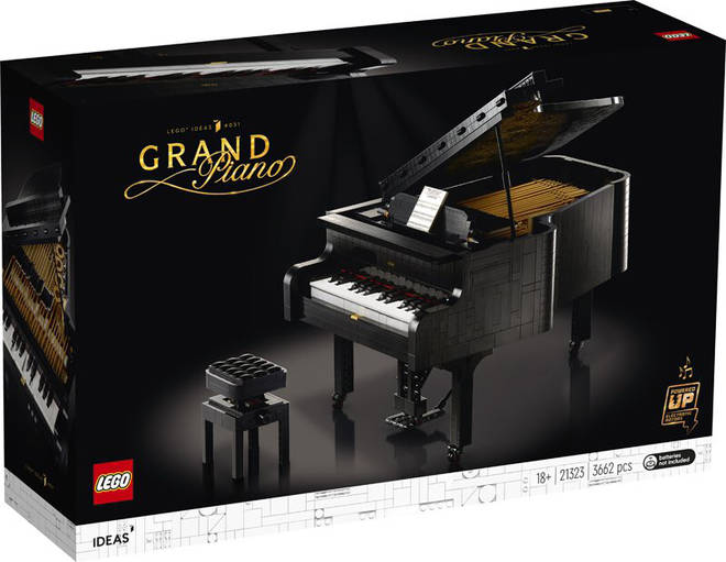 LEGO releases a grand piano set