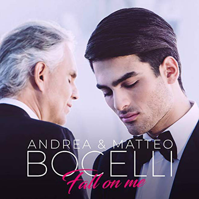 Andrea and Matteo Bocelli's single 'Fall on Me' was released on Andrea's new album 'Sì'