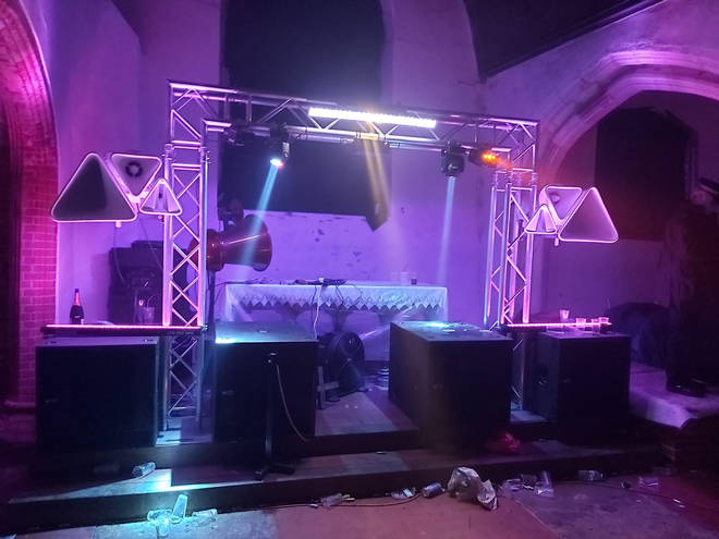 Essex church trashed in New Year's Eve rave