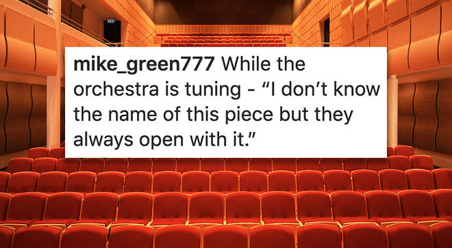 Funniest comments at a classical concert