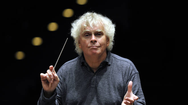 Sir Simon Rattle is stepping down as music director of the LSO in 2023.