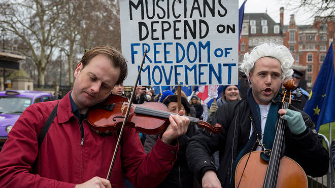 Musicians' fury at report UK 'rejected visa-free tours' for artists, despite blaming EU