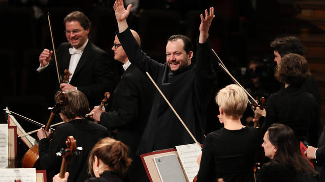 Andris Nelsons with the Leipzig Gewandhaus Orchestra