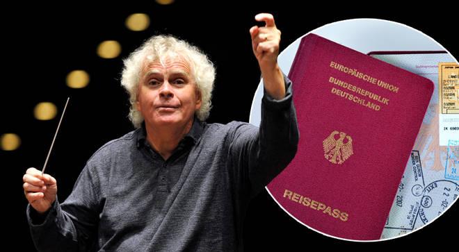 Conductor Sir Simon Rattle applies for German citizenship