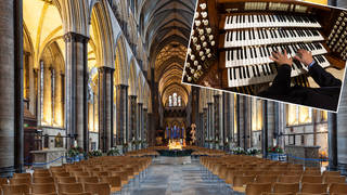 Salisbury Cathedral becomes a vaccination centre
