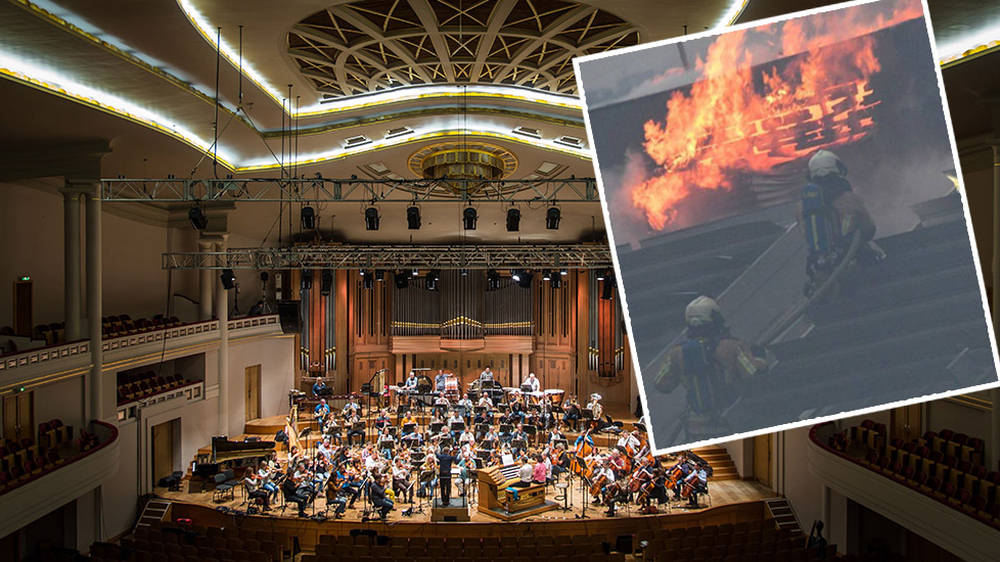 Fire devastates beloved Brussels concert hall, organ suffers 'significant damage'