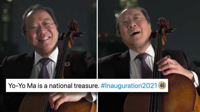 Yo-Yo Ma plays poignant 'Amazing Grace' at Biden inauguration concert