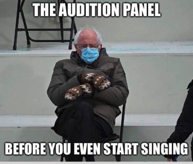 Bernie as an adjudicator
