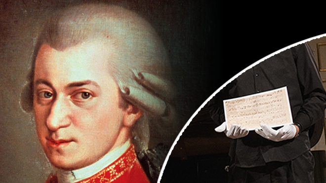 Newly discovered Mozart piano piece performed to mark composer's 265th birthday