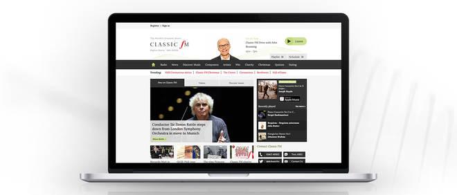 Listen to Classic FM online