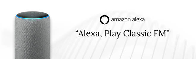 Listen to Classic FMAmazon Alexa smart speakers