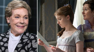 Julie Andrews is the voice of Lady Whistledown in Bridgerton