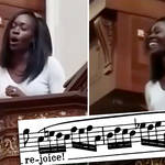 Watch soprano's incredible vocal acrobatics in Handel's Messiah