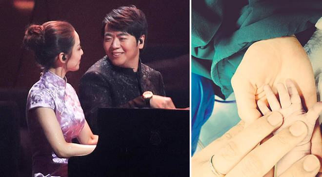 Pianists Lang Lang and Gina Alice Redlinger have had a baby boy
