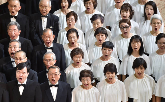 Japanese choir performs Beethoven's 'Ode to Joy' in annual Tokyo concert