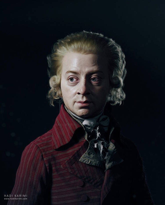 Mozart is brought to life in remarkable 3D sculptures