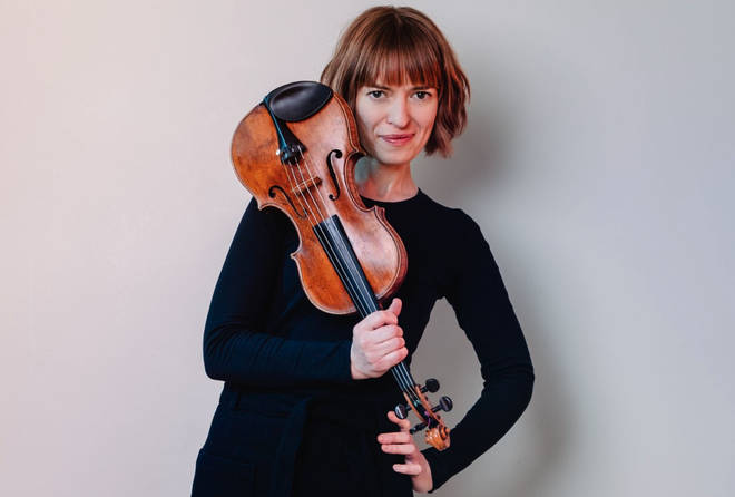 Violinist Fenella Humphreys