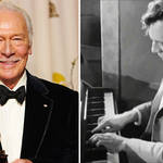 Christopher Plummer was a classically trained pianist, and loved Rachmaninov
