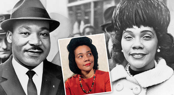 Martin Luther King Jr's wife, Coretta Scott King, was a celebrated soprano and violinist