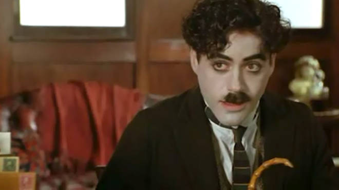 Robert Downey Jr as Charlie Chaplin