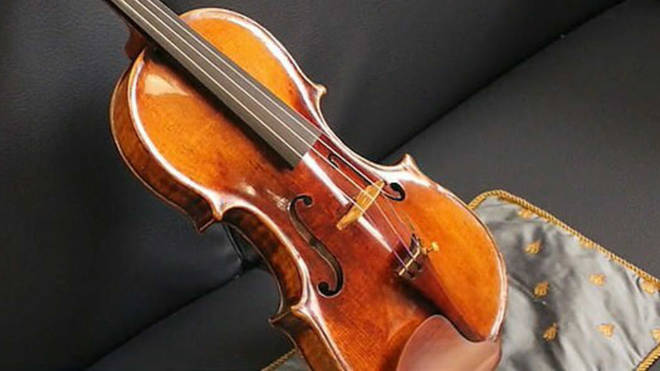 Boyd's 17th-century violin was crafted by revered Venetian luthier Matteo Goffriller