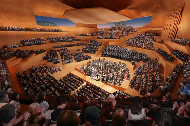 Centre for Music designed to measure up to Europe's great concert halls