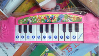 Confounding child's clavier